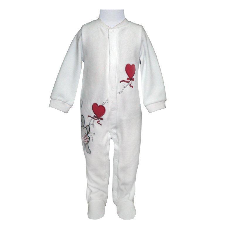 Первые вещи новорожденного Barkito Комбинезон, шапка Домашний очаг белый, красный petmax комбинезон серо красный m