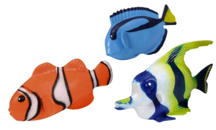 Фигурки животных simba морские рыбки стрейчевые, 14 см фигурки героев мультфильмов simba фигурка simba дракончик safiras в асс