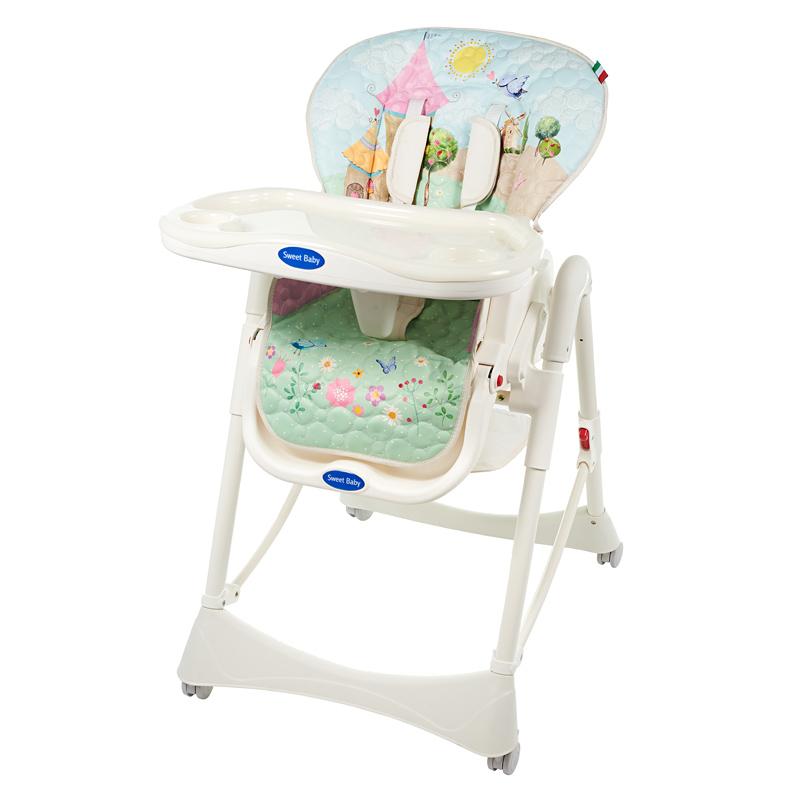 Стульчики для кормления Sweet Baby Стульчик для кормления Sweet Baby «Candy Land Oval» стульчик для кормления sweet baby couple light amethyst