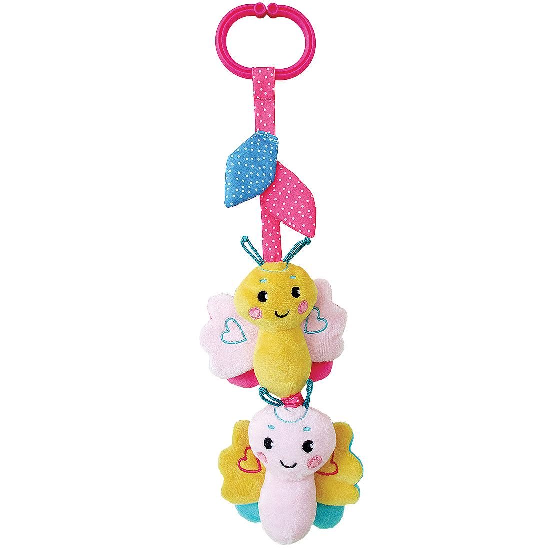 Игры и игрушки в дорогу Жирафики Бабочка игры и игрушки в дорогу жирафики подвеска книжка с шуршалкой зайка полли