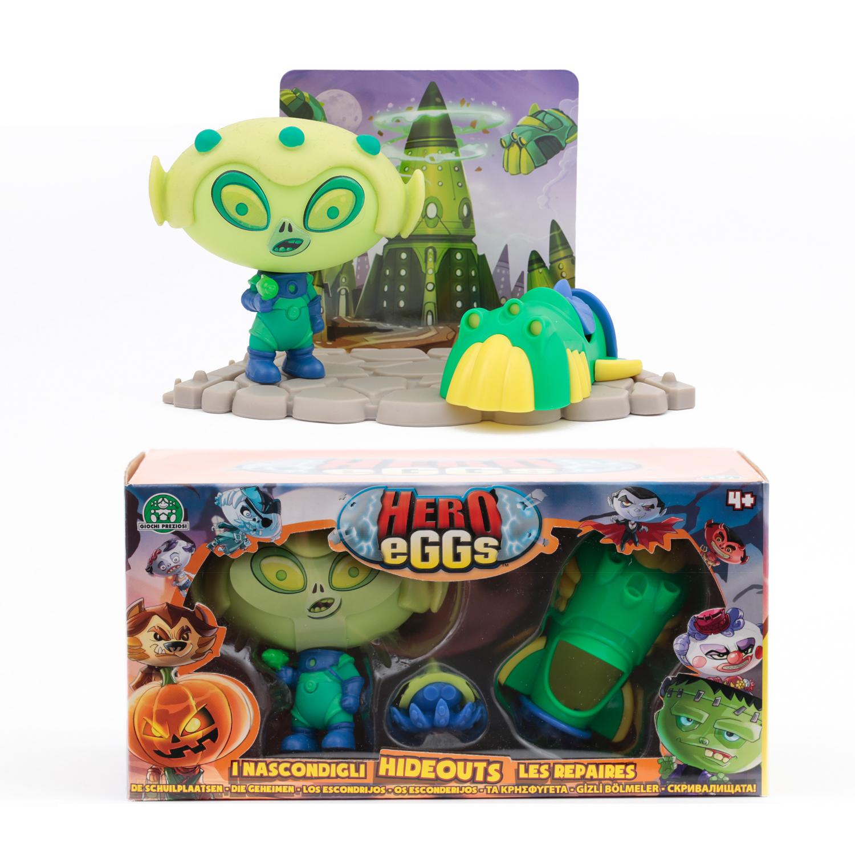 Hero eggs Игровой набор Hero eggs «Монстр Ален» с аксесс. hero eggs зомби