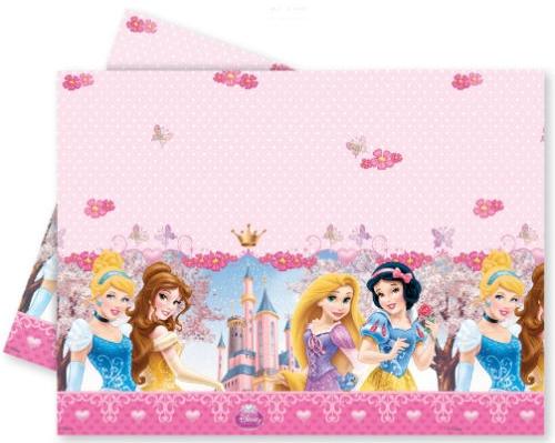 Скатерть Procos Принцессы Дисней - Сказочный мир 120x180 см procos свечи буквы принцессы disney сказочный мир happy birthday