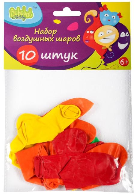 Набор воздушных шаров Bebelot Holiday Сердце набор для творчества bondibon фигуры из воздушных шаров разноцветный