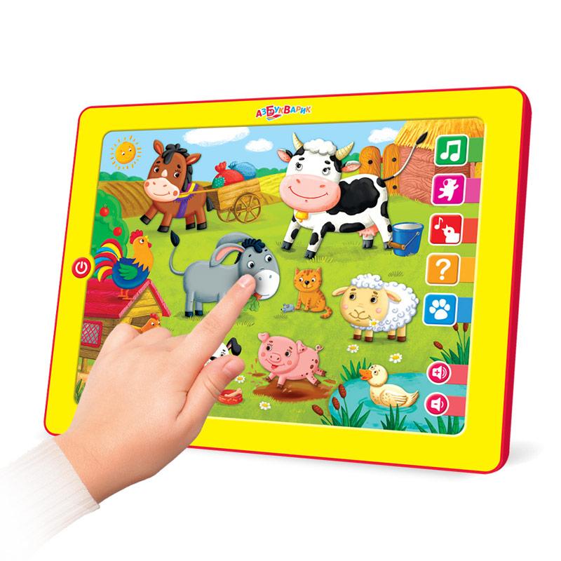 Развивающая игрушка Азбукварик Планшетик Музыкальная ферма планшет музыкальная ферма азбукварик