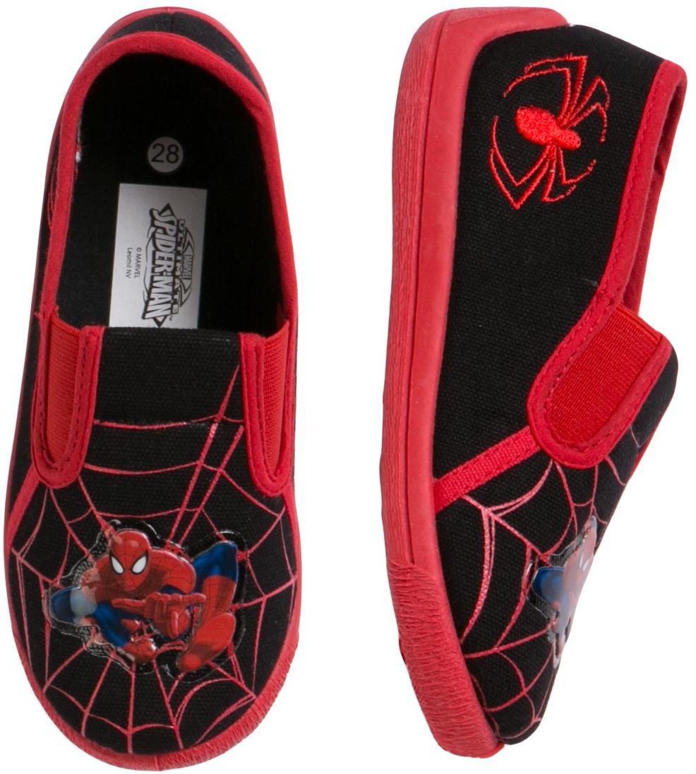 Spider Man Ultimate spiderman Туфли комнатные для мальчика Ultimate spiderman черный hot selling spiderman creator the spider man pvc action figure collectible model toy