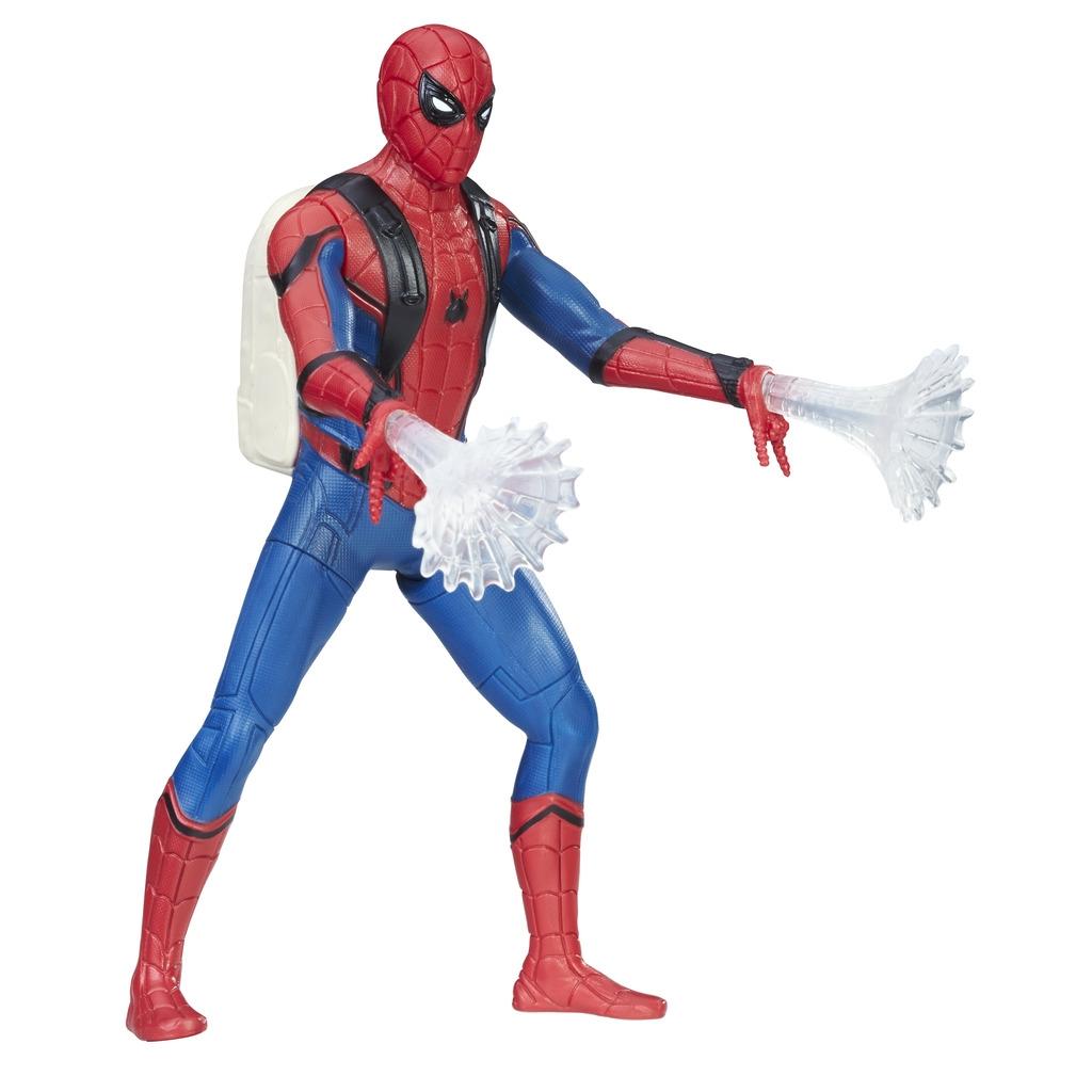 Spider Man Spider-man Фигурка Spider-man «Паутинный город» 15 см в асс. spider man фигурка с аксессуарами kid arachnid