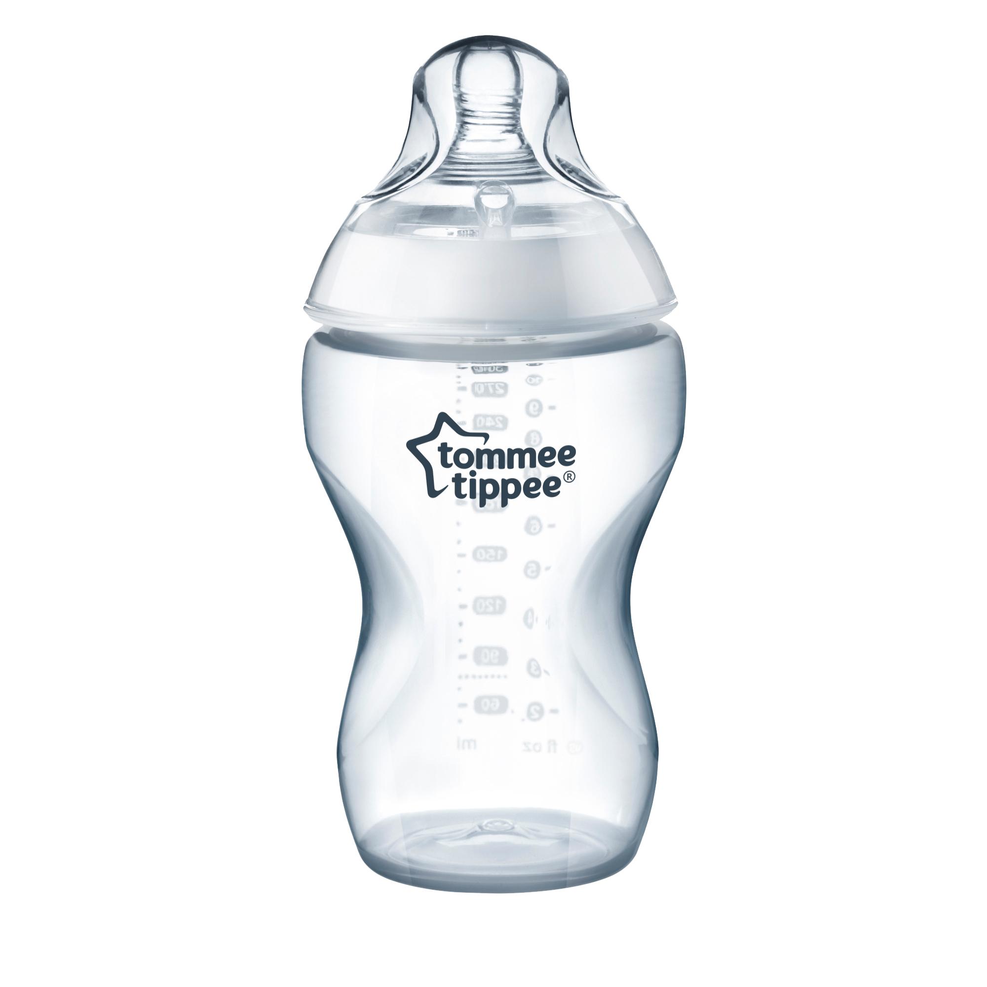 Бутылочки Tommee Tippee Бутылочка Tommee Tippee средний поток 340 мл бутылочки для кормления tommee tippee медленный поток 3 шт 260 мл