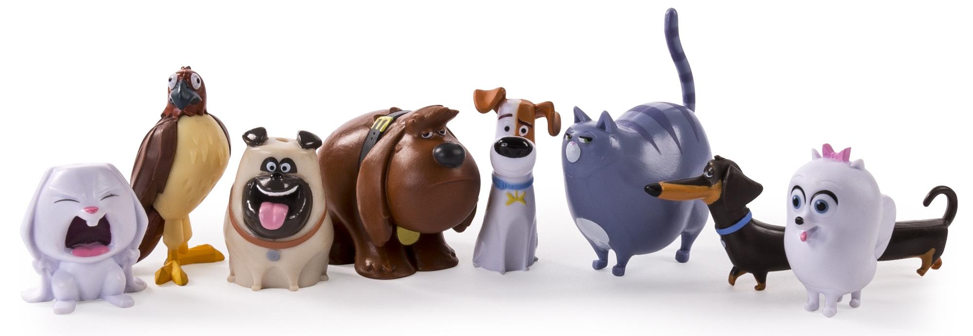Купить Фигурки героев мультфильмов, 72807 Тайная жизнь домашних животных, Secret Life of Pets, Китай, Мультиколор