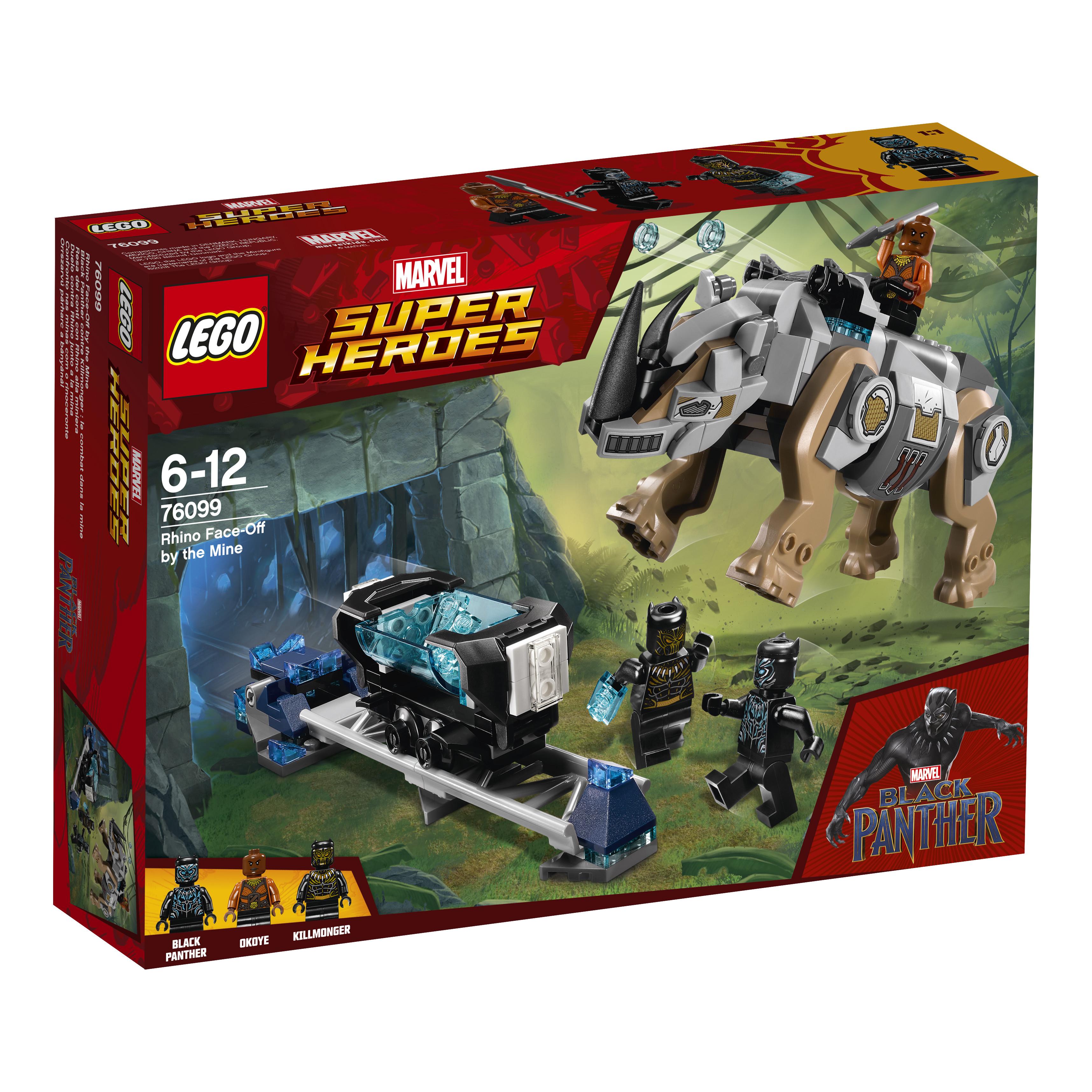 LEGO LEGO Конструктор LEGO Super Heroes 76099 Поединок с Носорогом автокресло baby care rubin