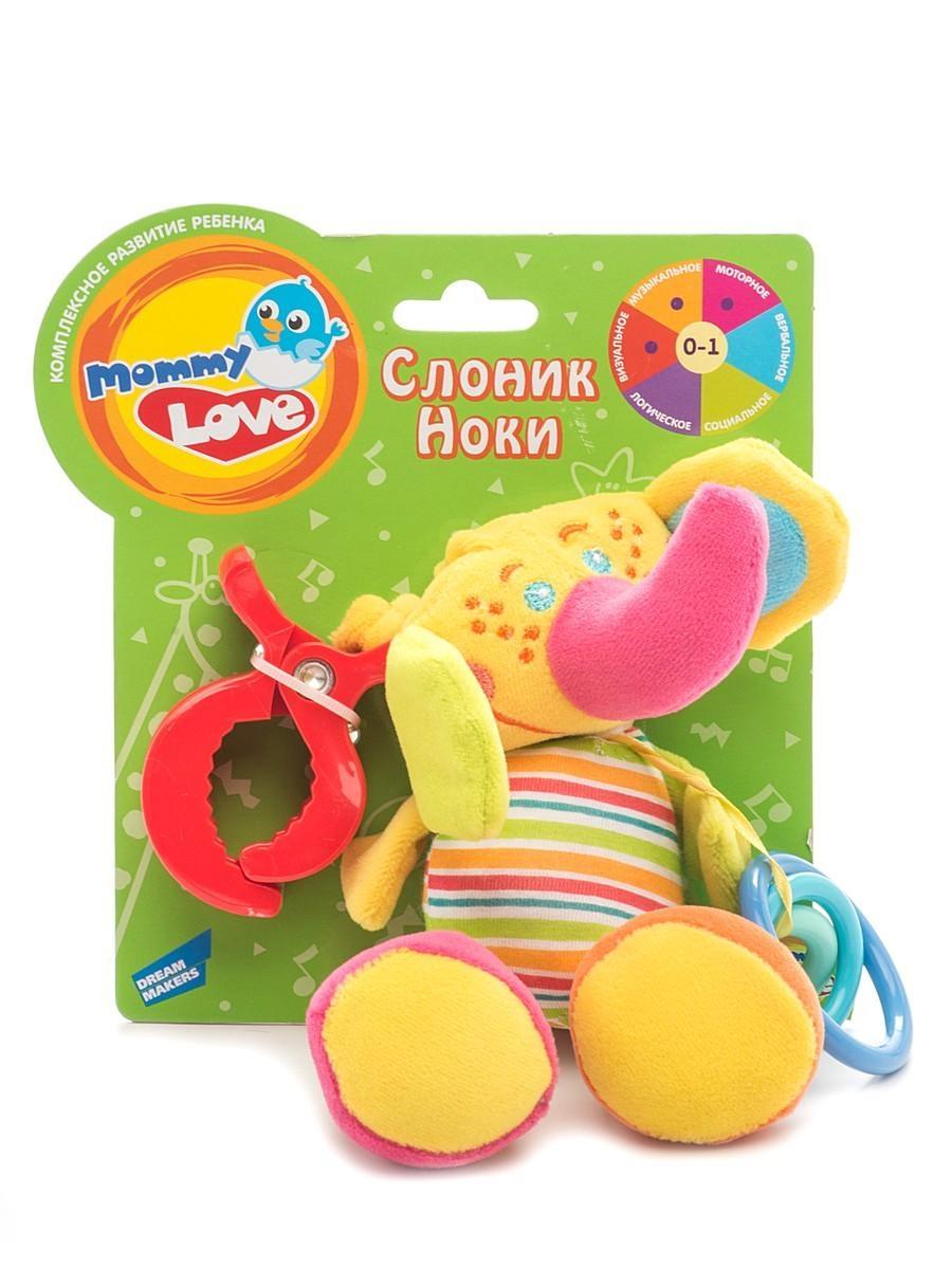 Развивающие игрушки Mommy Love Развивающая игрушка Mommy Love «Слоник Ноки» i love you mommy