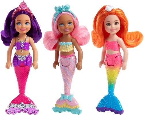 Кукла Barbie Маленькие русалочки кукла с длинными волосами блондинка barbie fxc80