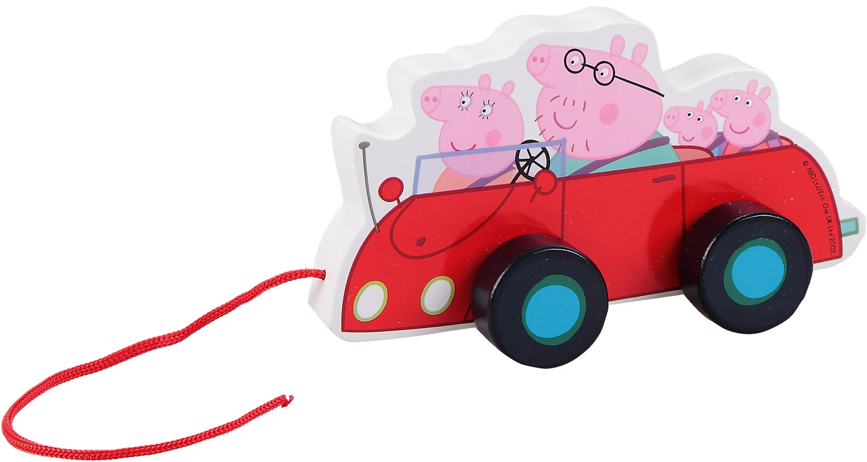 Каталка Peppa Pig Машина семьи Пеппы
