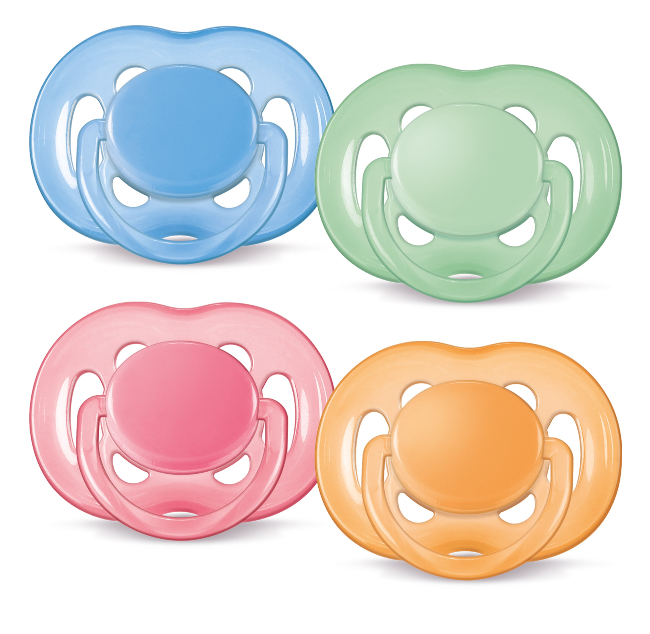 Пустышки Philips AVENT Пустышка Philips-Avent силиконовая FREEFLOW BPA-Free 6-18 мес 1 шт freeflow bpa free 2 шт