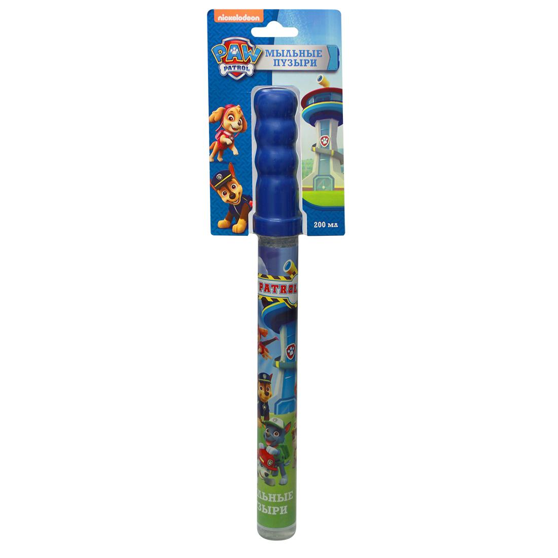 Мыльные пузыри Paw Patrol Волшебная палочка 200 мл волшебная палочка