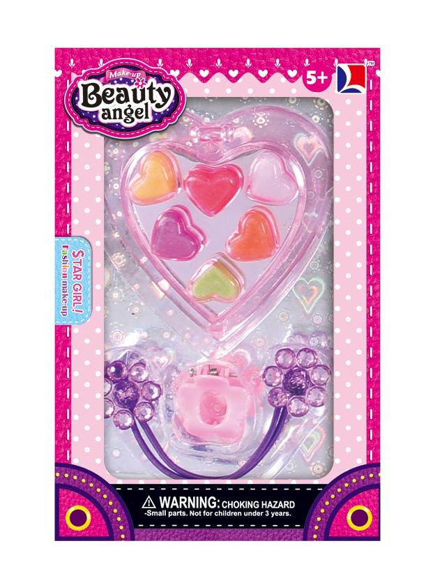 Мини-набор декоративной косметики Beauty Angel Сердце наборы декоративной косметики иллозур набор декоративной косметики 3 по цене 1