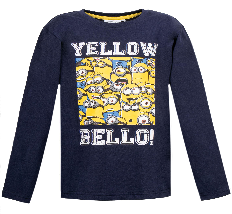 Джемпер с длинным рукавом для мальчика Barkito Despicable Me Franchise темно-синий футболка с длинным рукавом мужская levi s® цвет темно синий 3601500090 размер xl 52