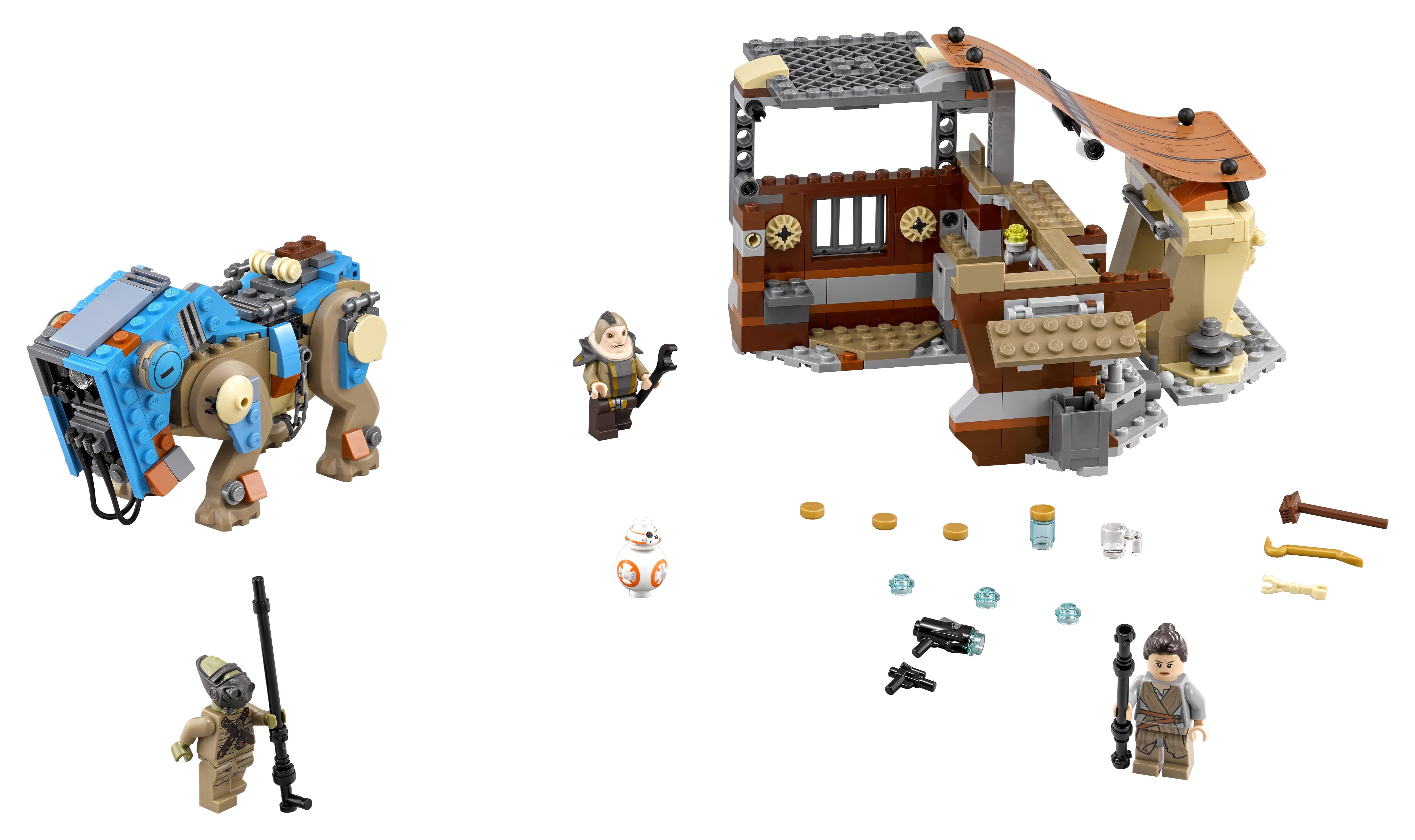 Конструктор LEGO 75148 Столкновение на Джакку конструктор lego столкновение на джакку 75148
