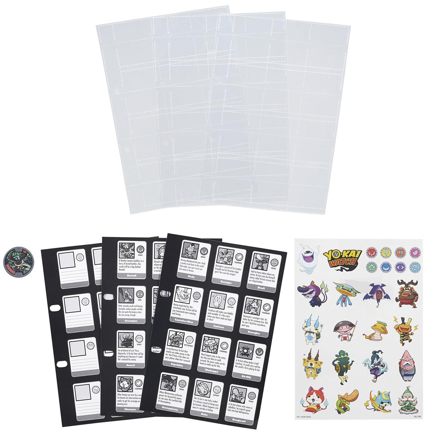 Наборы для творчества Hasbro Страницы для Альбома Коллекционера Yokai Watch