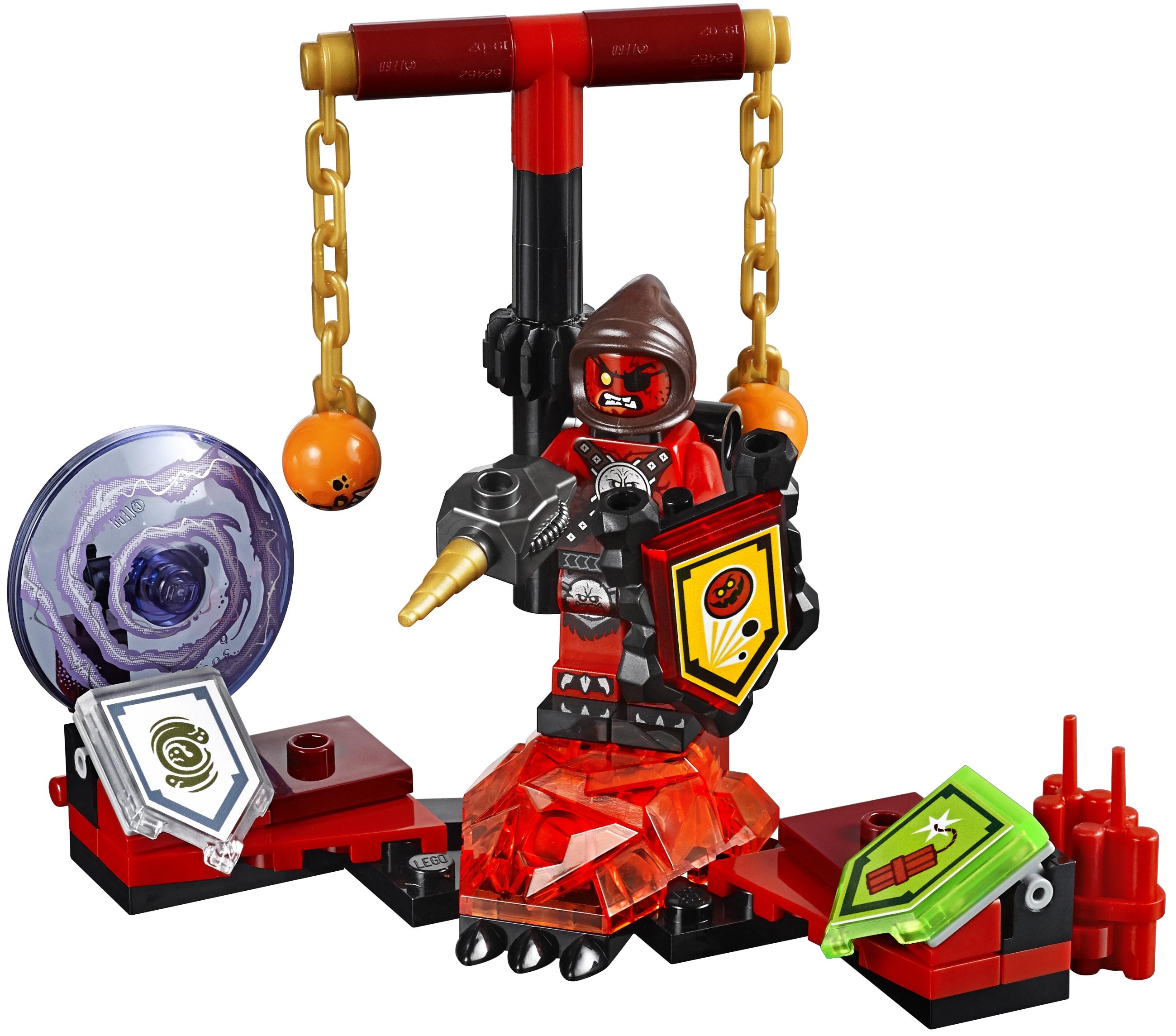 Конструктор LEGO Nexo Knights 70334 Предводитель монстров Абсолютная сила lepin nexo knights the fortrex combination marvel building blocks kits toys compatible legoe nexus