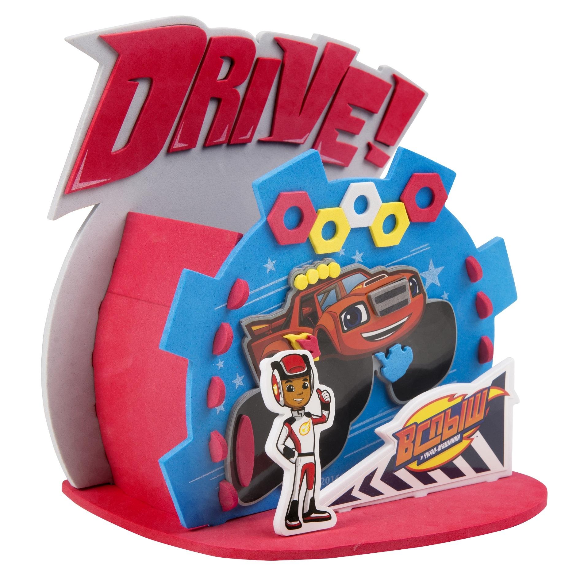 Купить Игровой набор, Домик для карандашей Веселые гонки, 1шт., Blaze 32863, Китай, Мультиколор