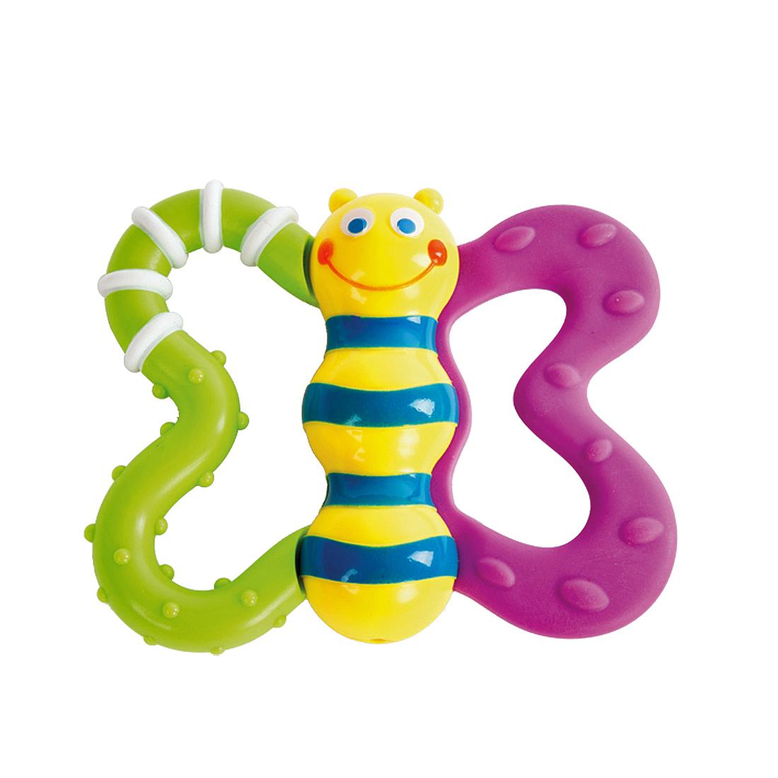Погремушки Жирафики Развивающая игрушка Жирафики «Бабочка» подвесные игрушки жирафики бабочка 93848