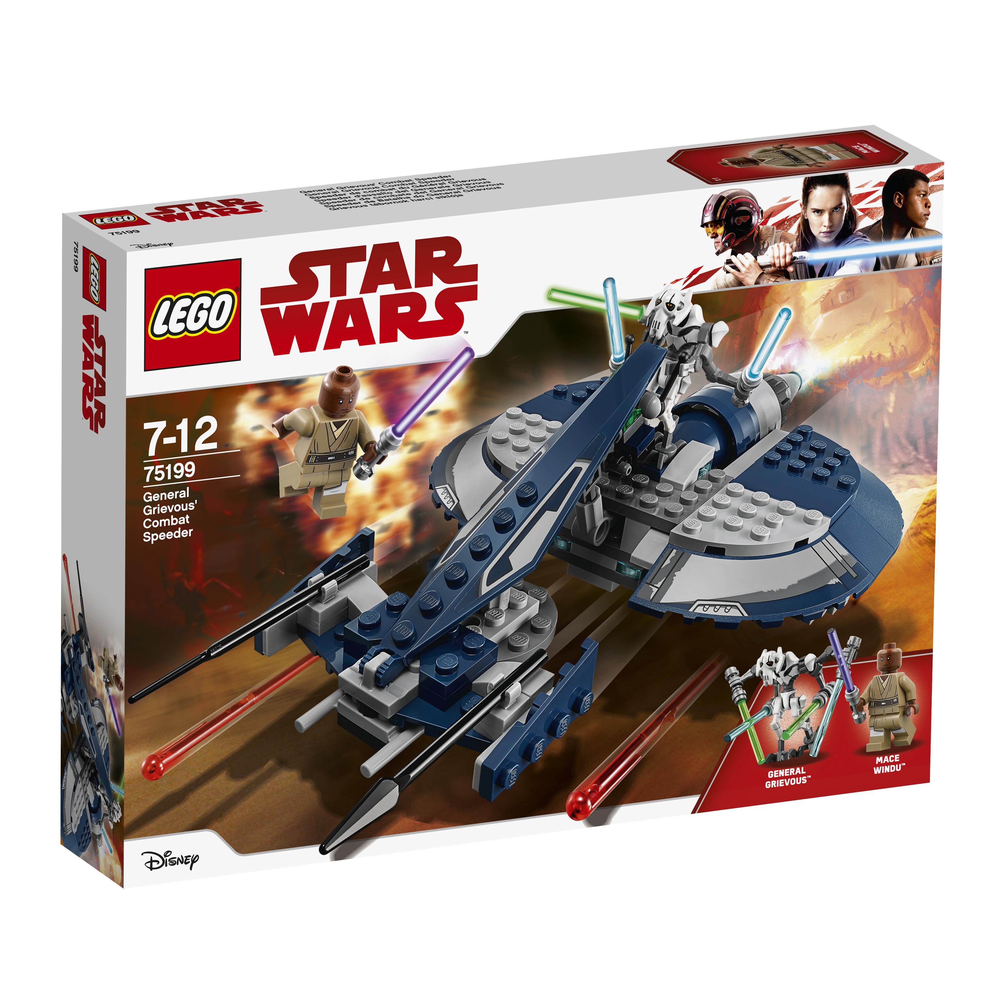 Конструктор LEGO Star Wars 75199 Боевой спидер генерала Гривуса цена