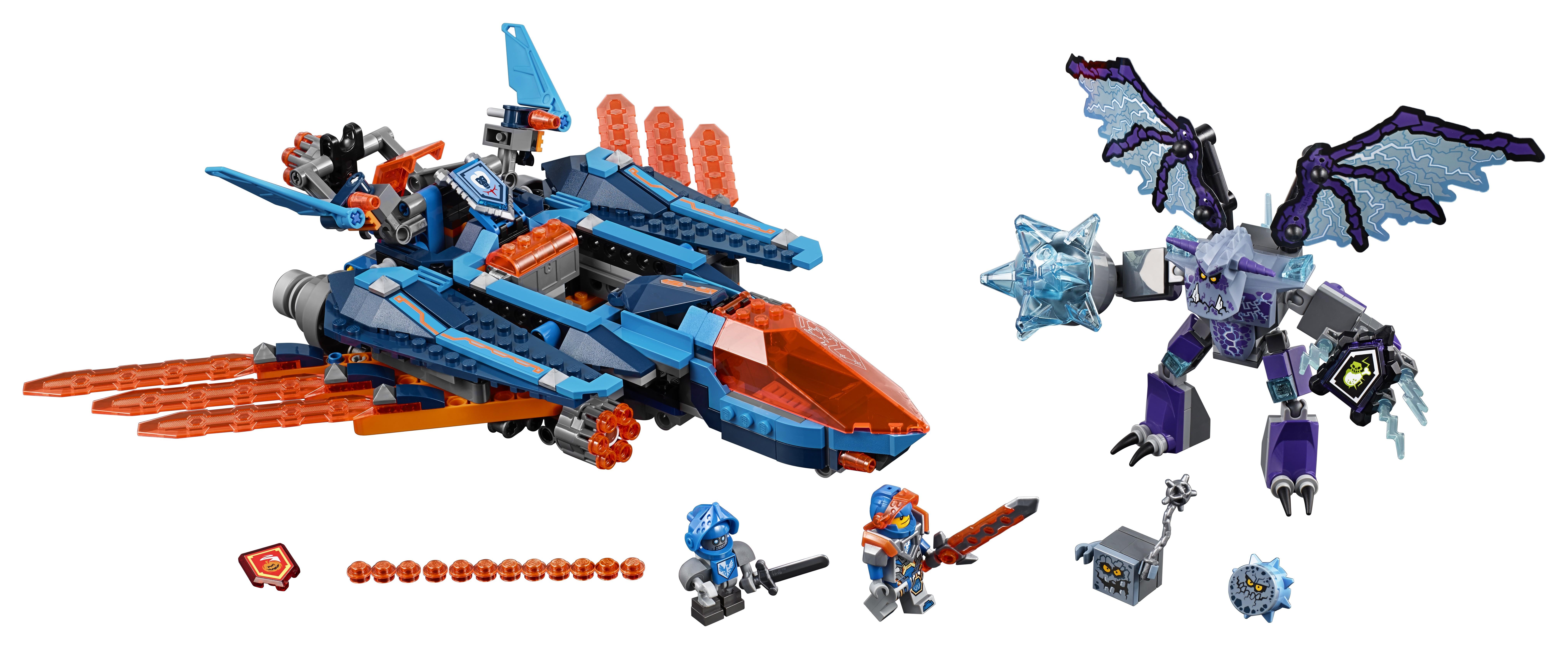 LEGO LEGO Nexo Knights 70351 Самолёт-истребитель Сокол Клэя конструктор nexo knights lego lego mp002xb0087d