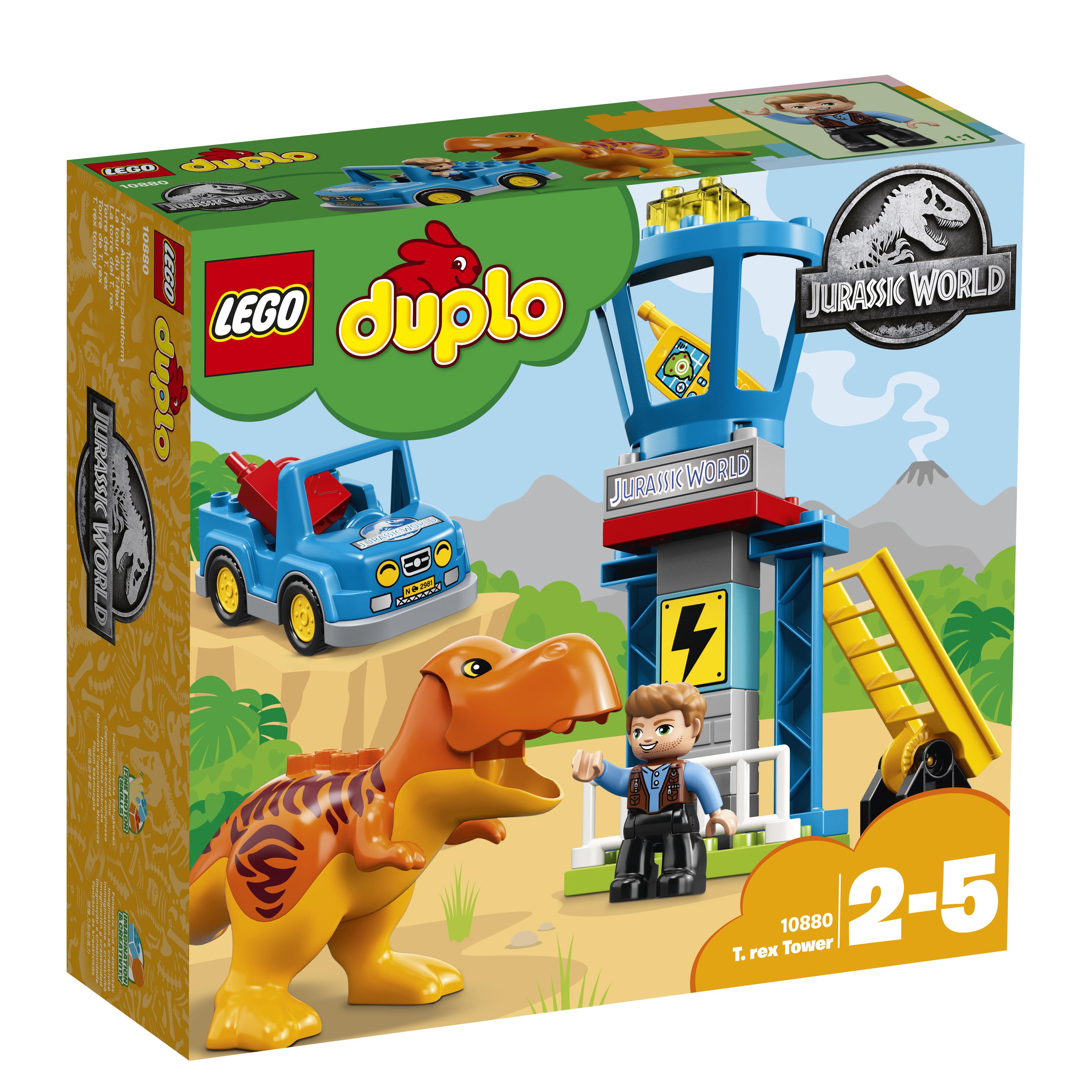 LEGO DUPLO LEGO Jurassic World 10880 Башня Ти-Рекса