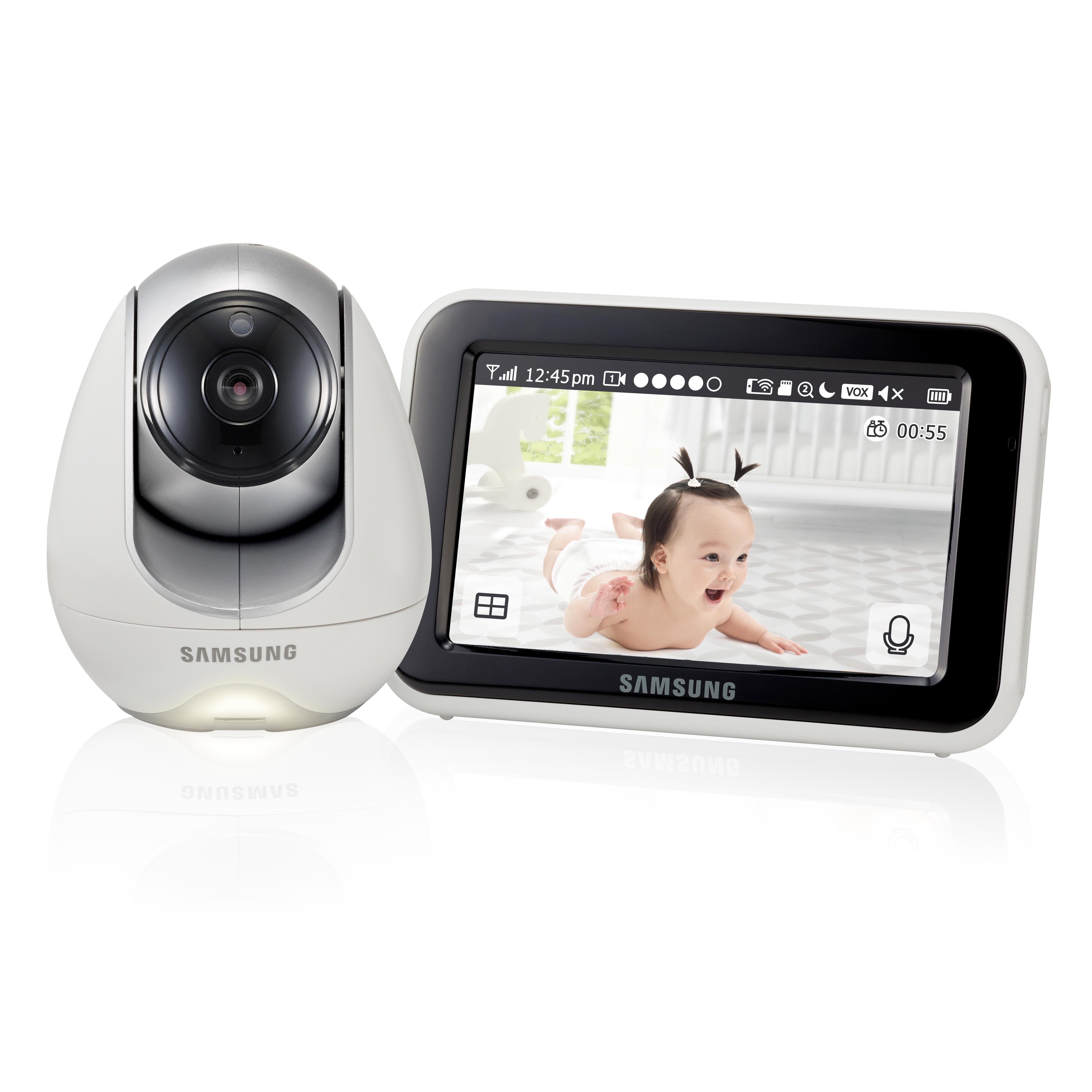Радио и видеоняни Samsung SEW-3053WP видеоняня samsung samsung видеоняня sew 3043wpx2