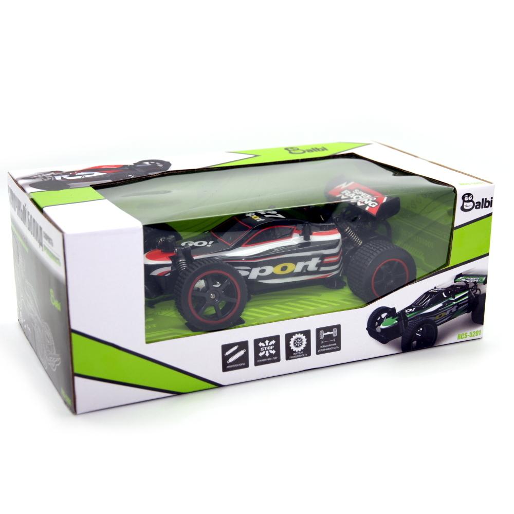 Игрушки на радиоуправлении BALBI RCS-5201-В «Багги» 1:20 цена