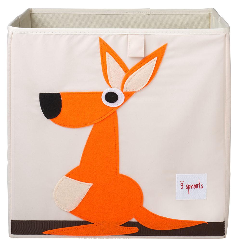 Ящики и корзины для игрушек 3 Sprouts «Orange Kangaroo»