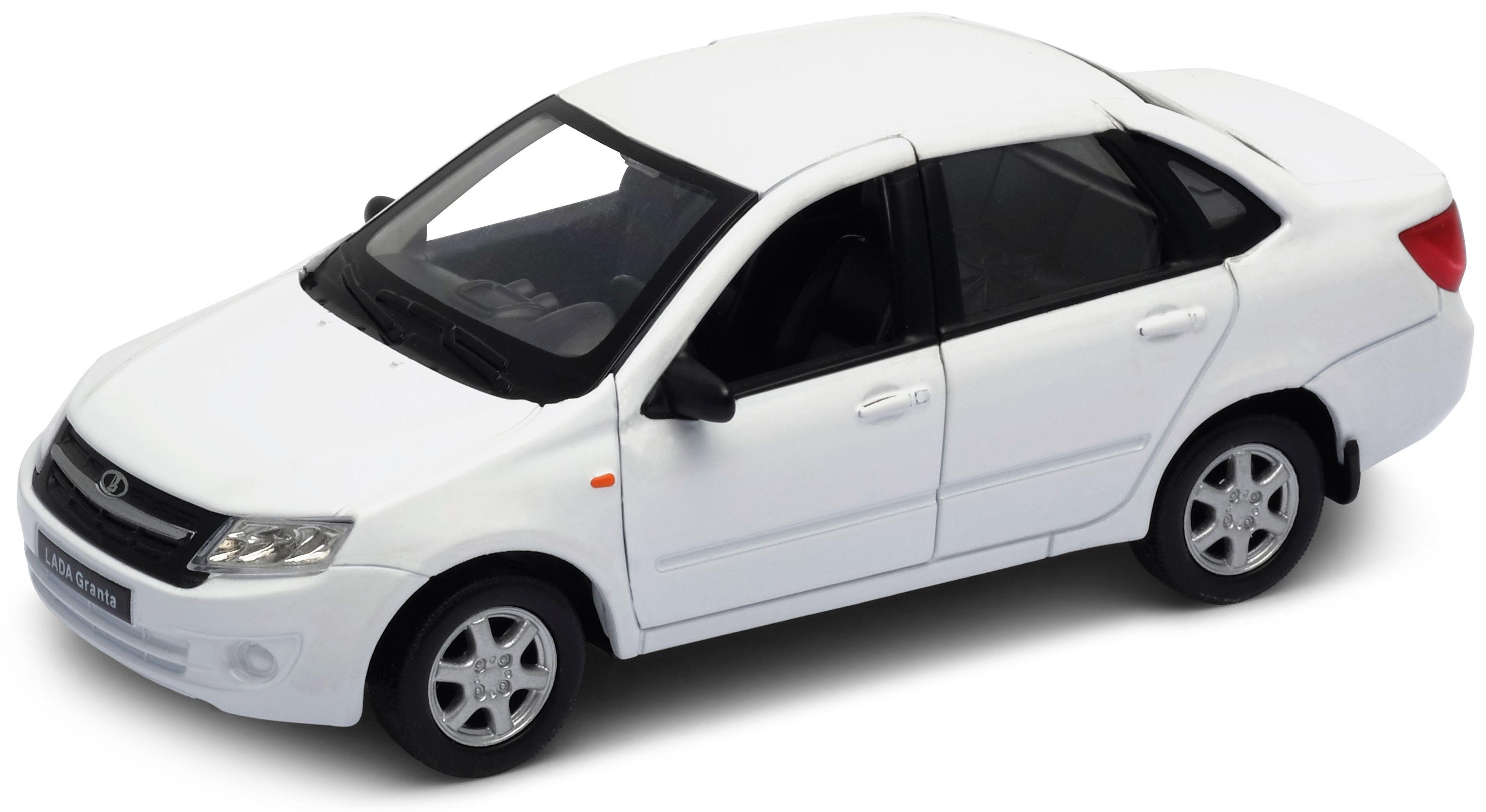 Машинки и мотоциклы Welly Модель машины Welly «Lada Granta» 1:34-39 welly модель машины 1 34 39 lada granta такси