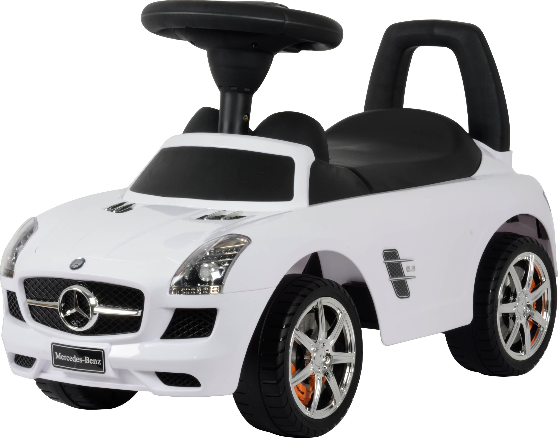 Машинки-каталки и ходунки Mercedes-Benz Mercedes-Benz «SLS AMG» белый rastar 1 18 mercedes benz sls amg 54100 серебристый