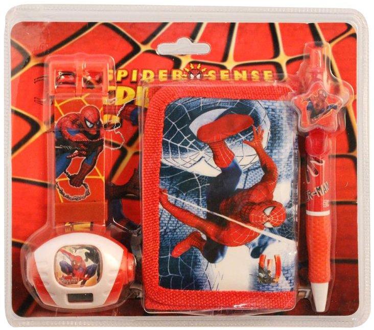 Набор Disney Часы и кошелек Человек Паук цена и фото