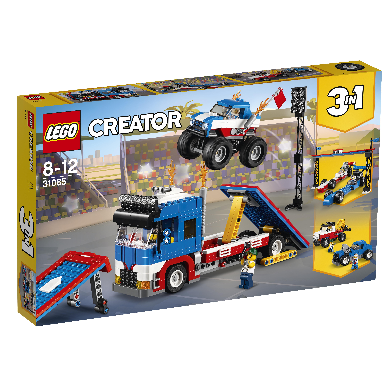 LEGO LEGO Конструктор LEGO Creator 31085 Мобильное шоу конструктор lego creator путешествие по воздуху 31047