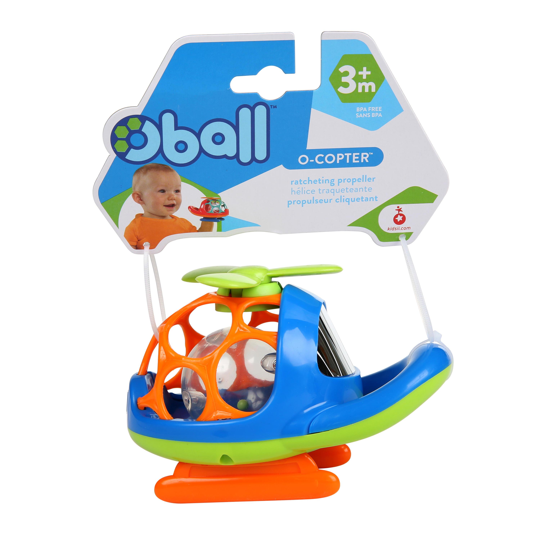 Развивающая игрушка Oball Вертолёт oball развивающая игрушка twist o round