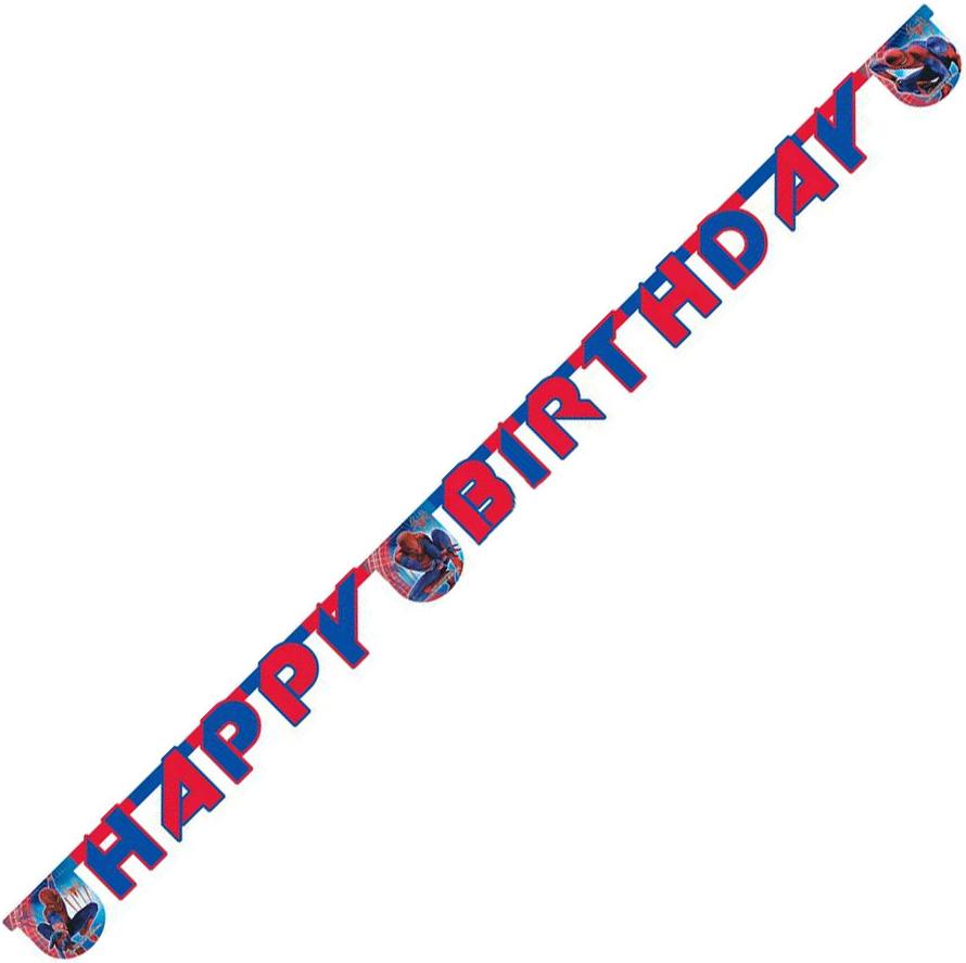 Гирлянда Procos Человек-Паук - Невероятный гирлянда буквы procos самолеты happy birthday 1 шт 26072013