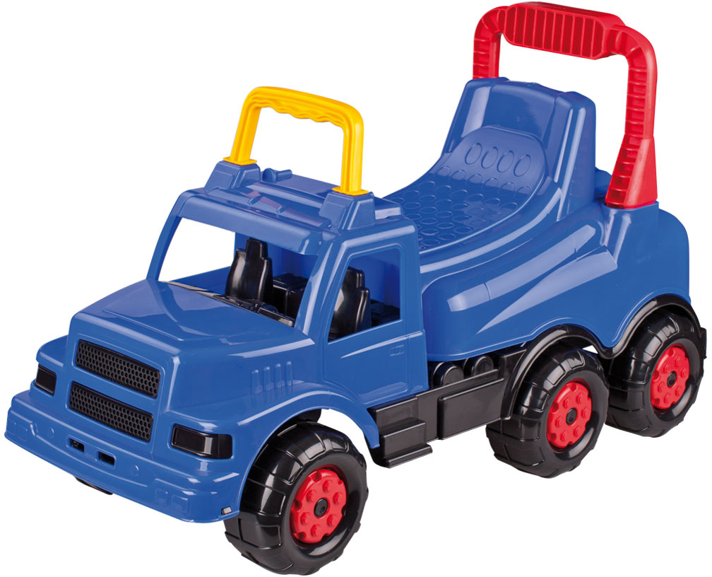 Купить Машинки-каталки и ходунки, Каталка-машинка Весёлые гонки синяя, Веселые гонки, Россия, blue, Мужской