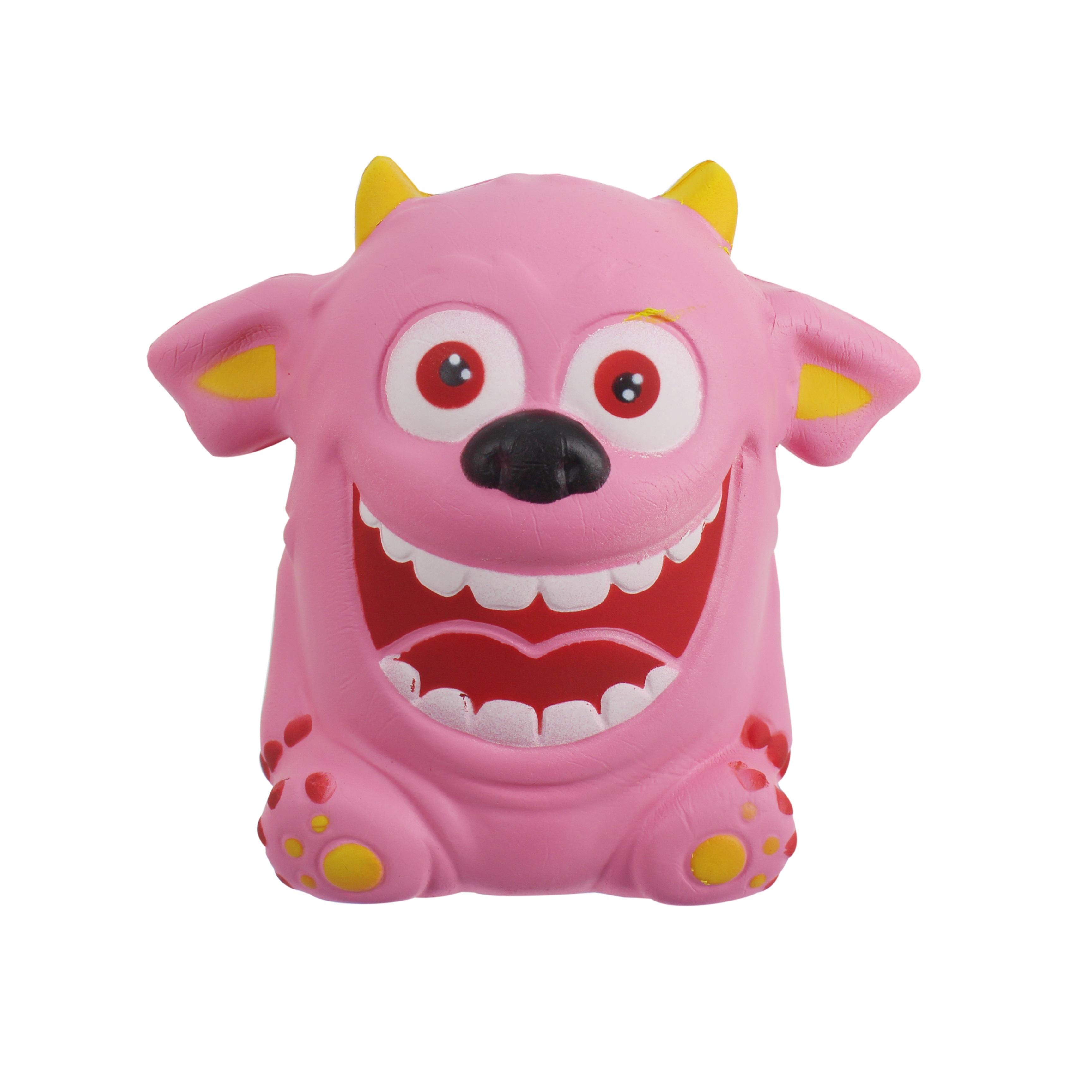 Купить Игрушка-антистресс, «Мммняшка Squishy. Веселый монстрик», 1toy, Китай, полимерные материалы