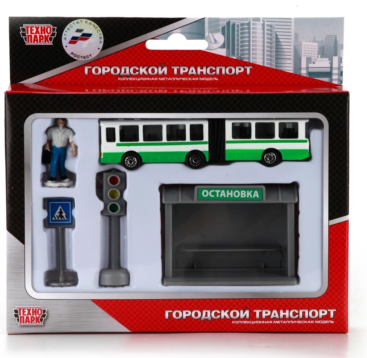 Городской транспорт Технопарк Игровой набор Технопарк Городской транспорт городской транспорт плакат