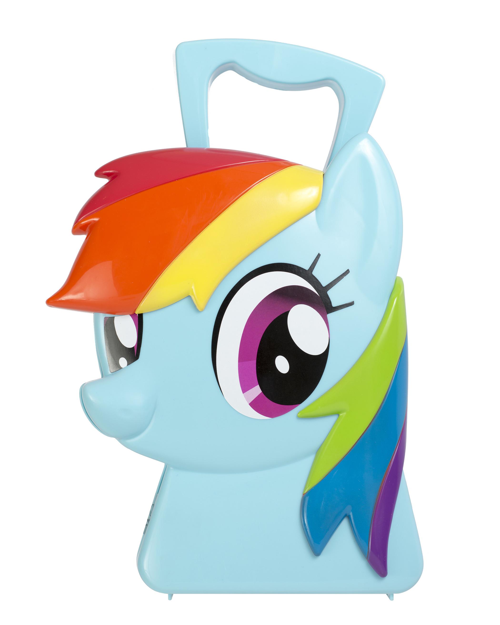 My Little Pony HTI Чемоданчик стилиста My Little Pony «Рэйнбоу» блуза fly fly mp002xw0dlej