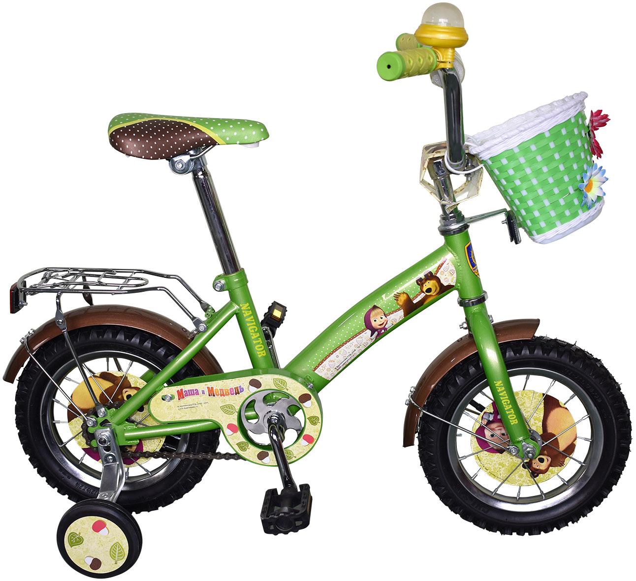 Велосипеды двухколесные Navigator Маша и Медведь (ВН12101К)