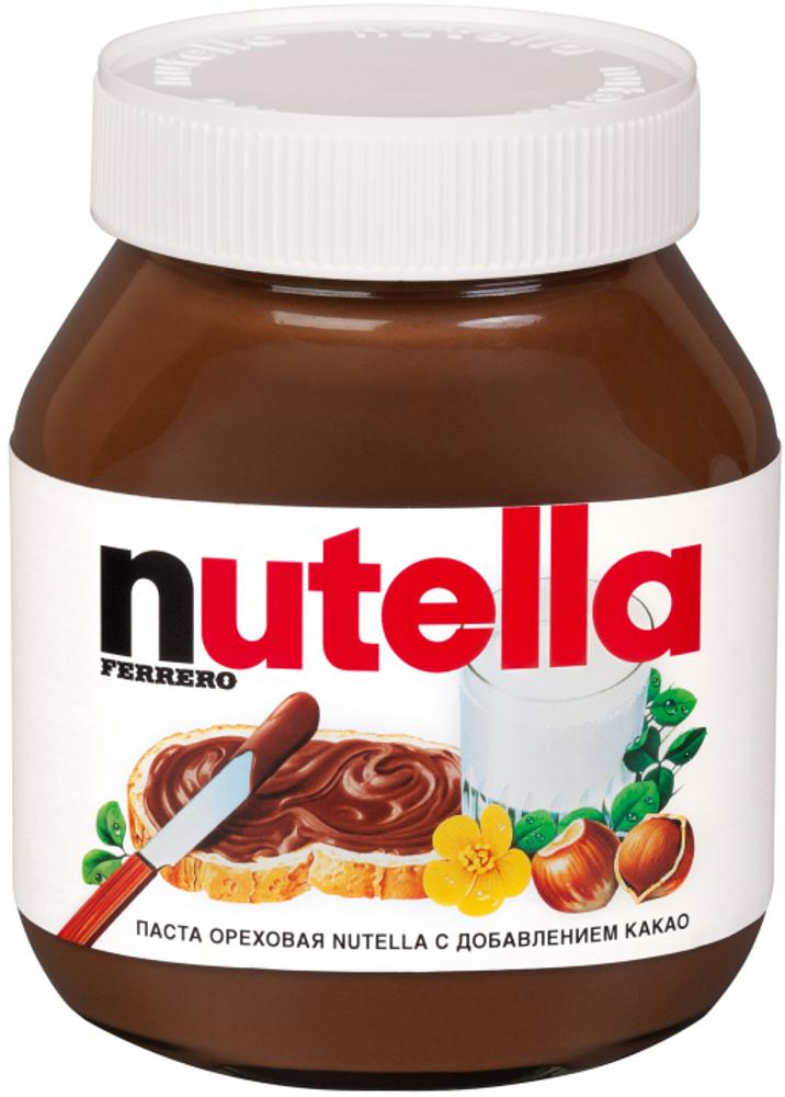 Паста ореховая Nutella Nutella с добавлением какао 630 г