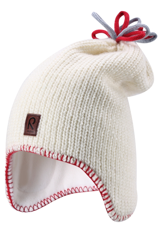 Головные уборы Reima Beanie, Lodestar white children autumn and winter warm clothes boys and girls thick cashmere sweaters