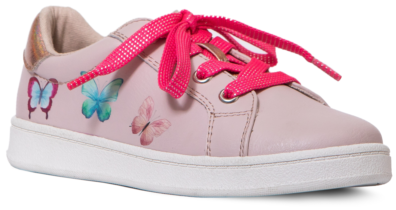 Купить Ботинки и полуботинки, Светло-розовые, Barkito, Китай, светло-розовый, Женский