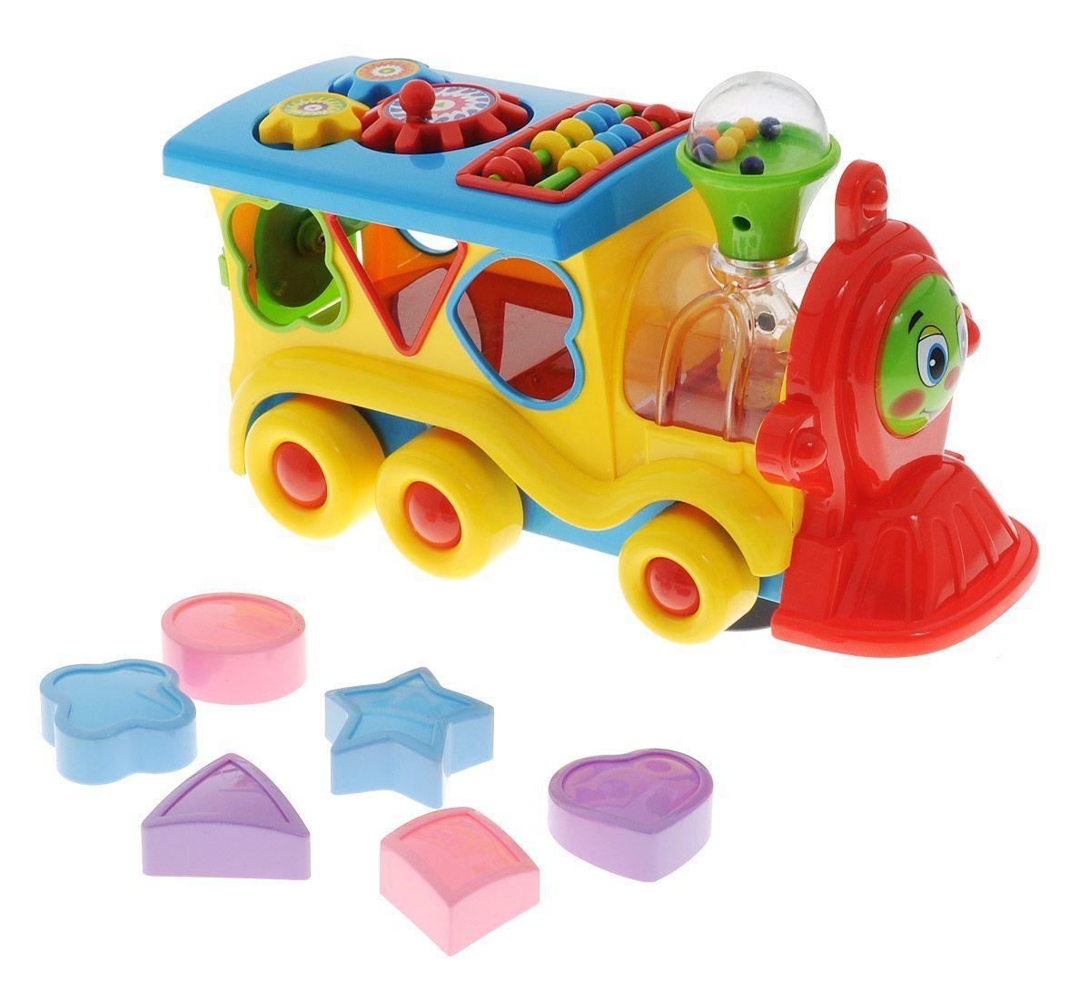 Развивающие игрушки Умка Развивающая игрушка Умка «Обучающий паровозик из Ромашково» развивающая игрушка умка пожарная машинка со стихами м дружининой