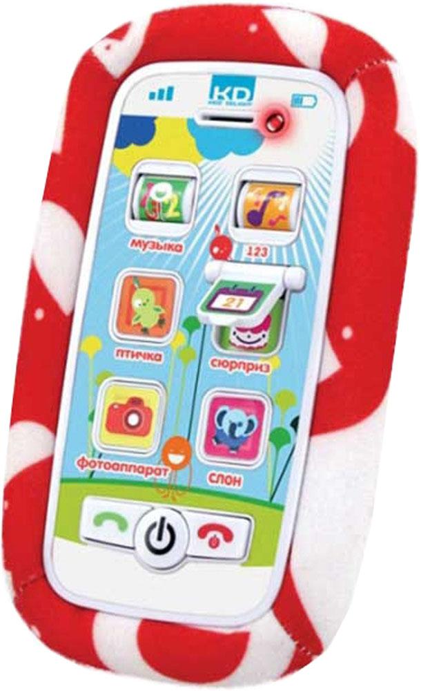 Купить Развивающая игрушка, Мой самый первый телефон, 1шт., Kidz Delight Т56272, Китай, красный + белый