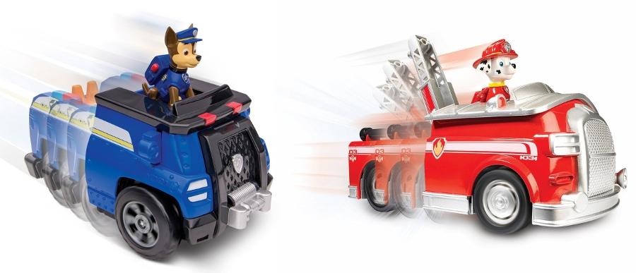 Игровой набор Paw Patrol Большой автомобиль спасателей (звук) Paw Patrol набор paw patrol трек спасателей синий 16683