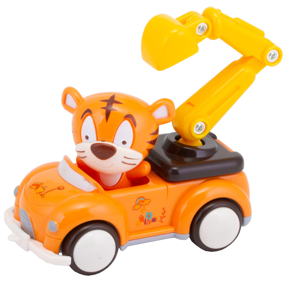 Развивающие игрушки YAKO инерционная с фигуркой животного игрушка yako m6263