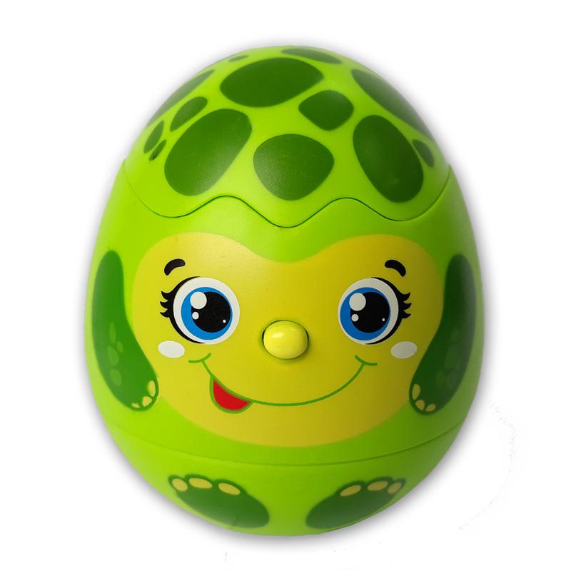 Яйцо-сюрприз Азбукварик Черепашка азбукварик книга азбукварик приключение смурфиков крошка смурф
